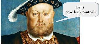 Let's take back control: Henry VIII